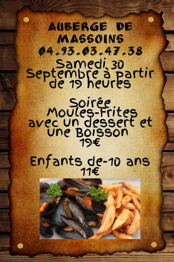 affiches moules frites 30 septembre 2017